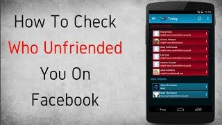 How to Check Who Unfriended you on Facebook (2017)