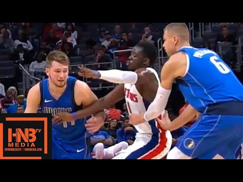 Dallas Mavericks vs Detroit Pistons - 1st Half Highlights | October 9, 2019 NBA Preseason