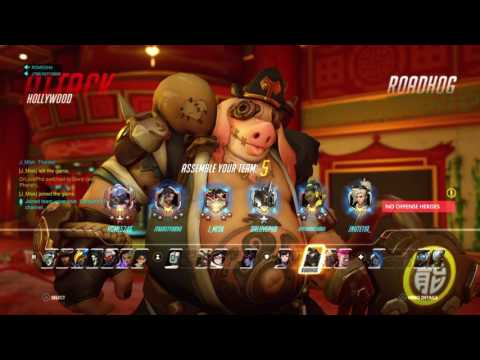 """Overwatch:12 year old gets racist and toxic because """"The teams trash"""""""