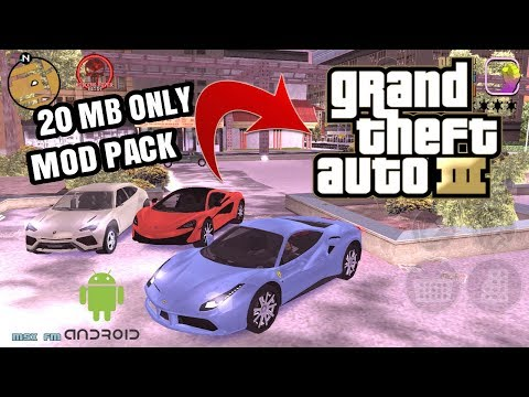 GTA3 REVOLUTION REAL MOD PACK 20 MB ONLY 2018 MUST WATCH by Modding