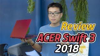 Review - Acer Swift 3 ปี 2018 สเปก Core i + MX150 บางเบาลื่นแรงน่าซื้อสุดปี 2018