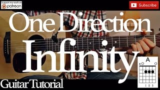 Infinity - One Direction Guitar Tutorial /Guitar Lesson / easy chords for beginner /