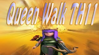 Queen Walk TH11 3 Star Max Base | Clash of Clans | TH11 Ring Base