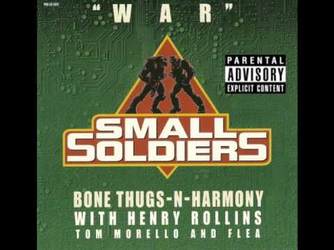 Bone Thugs N Harmony feat. Henry Rollins, Tom Morello and Flea - War (remix) (uncensored)