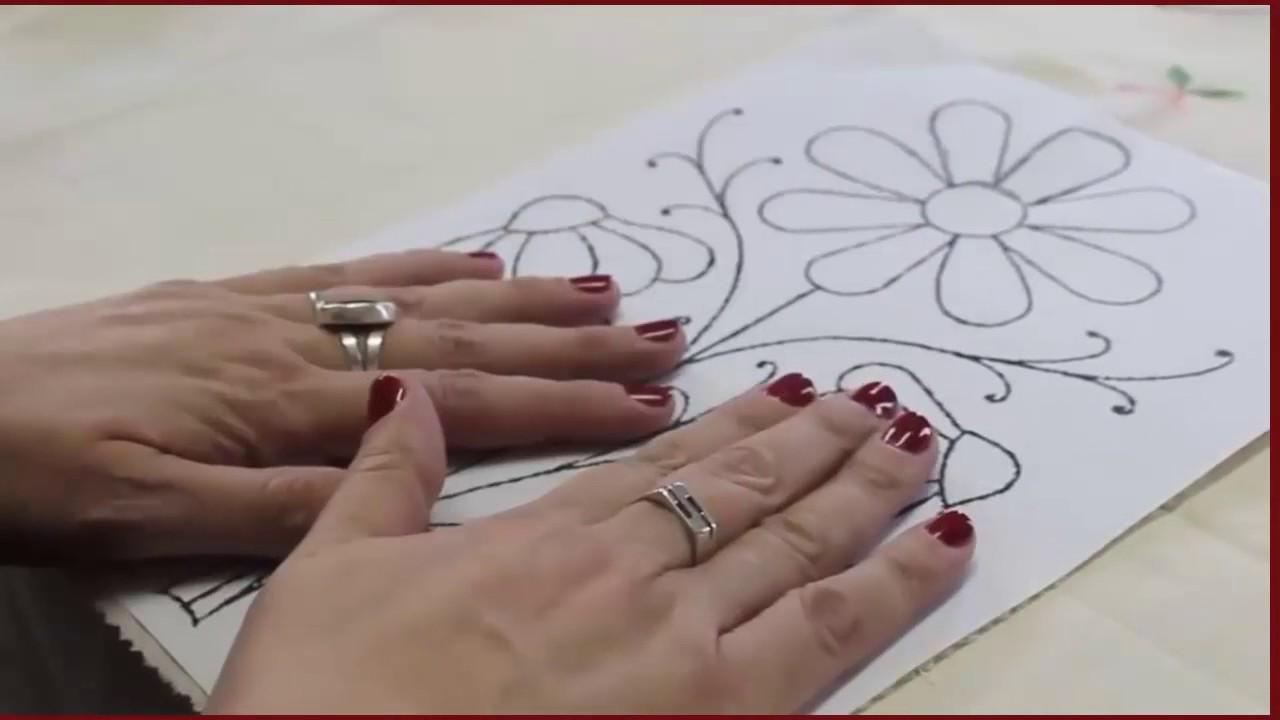 Como Calcar El Dibujo En La Tela Pa Youtube