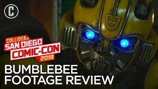 Bumblebee Footage Review - SDCC 2018