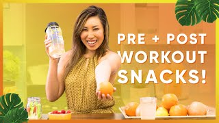 6 Natural Pre-Workout + Post-Workout Snacks Ideas!