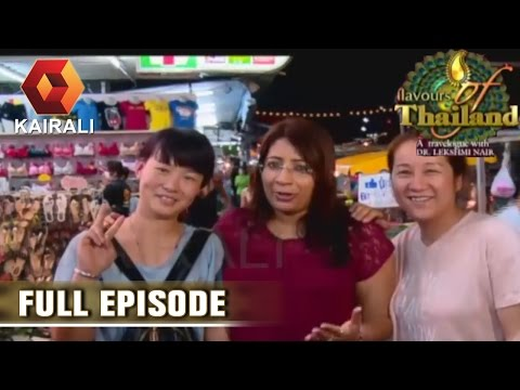 Flavours of Thailand: Stroll Through Pattaya Market Area At Night   29th June 2016   Episode 11
