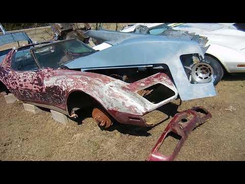 C3 Corvette Parts Car Junkyard: Beaters, Wrecks, Junkers, Piles of Crap!