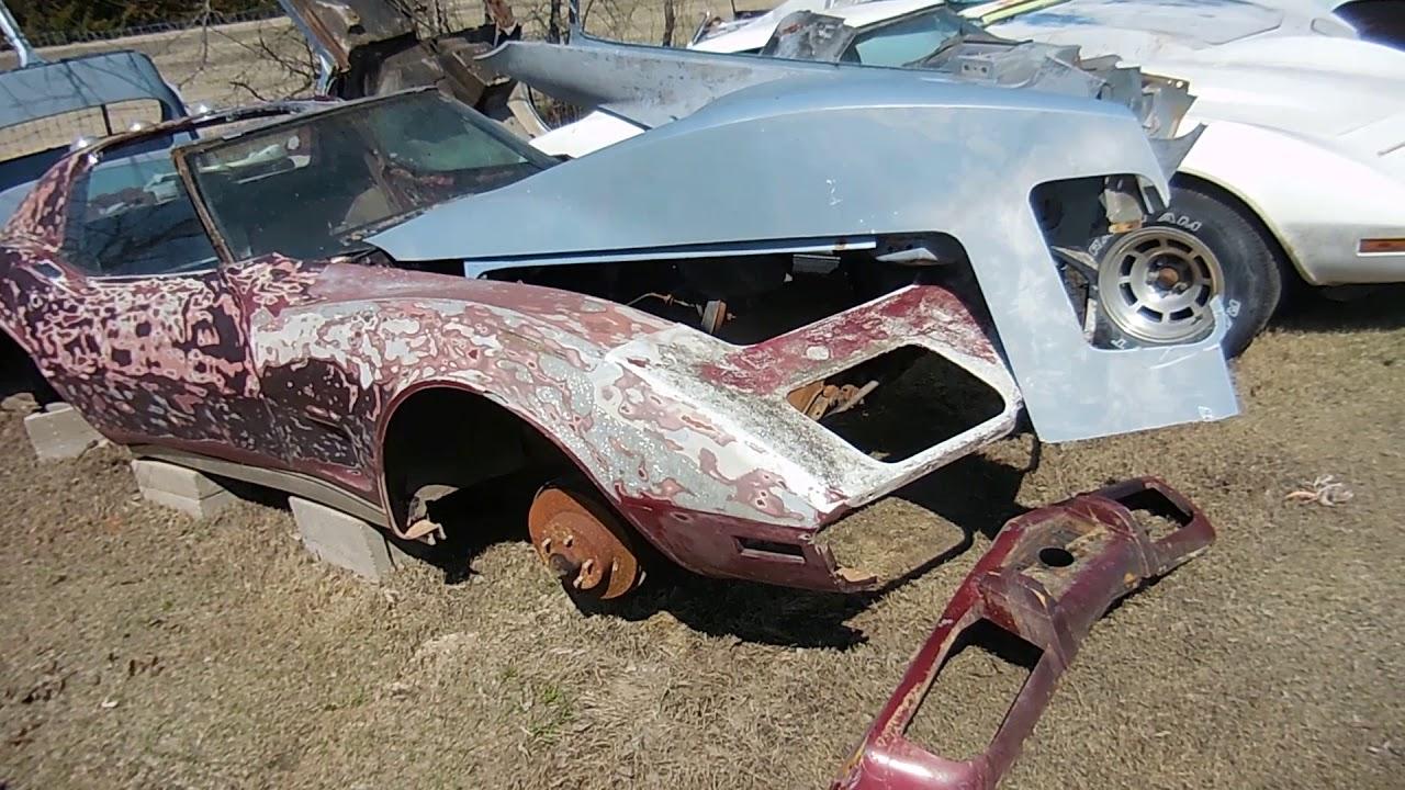 C3 Corvette Parts Car Junkyard: Beaters, Wrecks, Junkers, Piles of ...