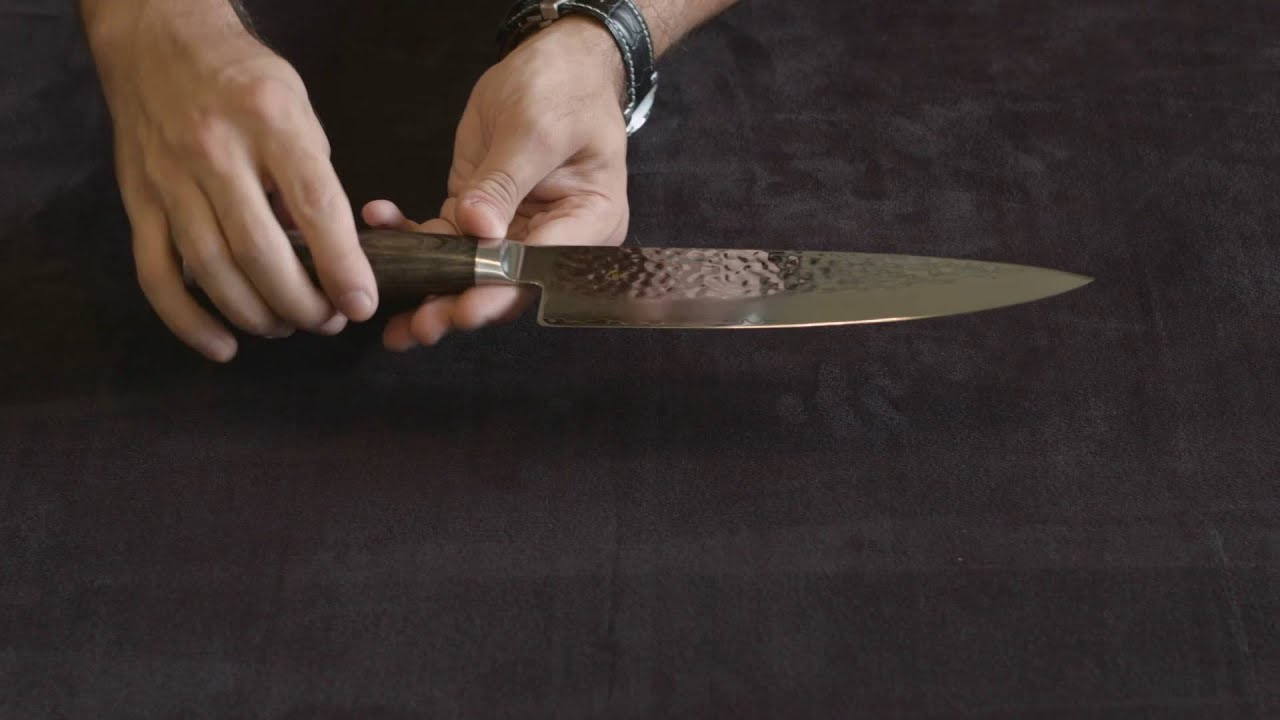 shun premier 8 inch chef u0027s knife u2014 review and information youtube