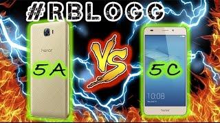 #RblogG Huawei Honor 5A vs 5C Подробный Обзор-Сравнение