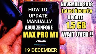 asus zenfone max pro m1 january update