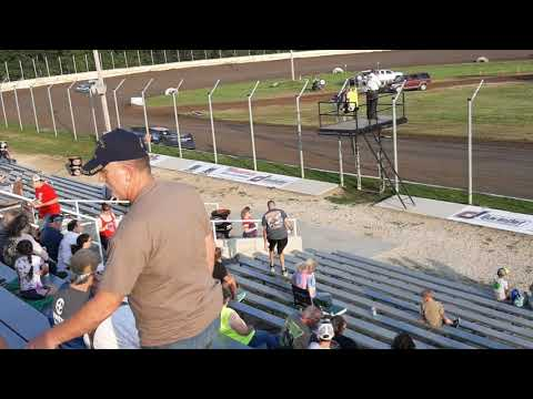Late models hot Laps Humboldt speedway