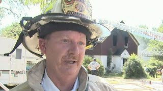 Funeral today for Somerset Fire Chief Scott Jepson