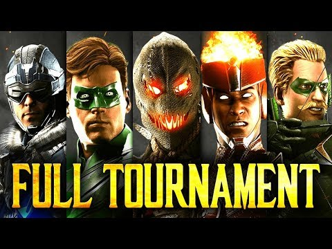 Injustice 2: Chicago 2018 - Full Tournament! [TOP8 + Finals] (ft. Decay, Grawlix, Shady etc)