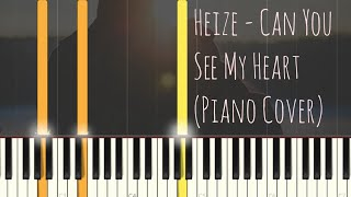 Heize 헤이즈 Can You See My Heart 내 맘을 볼수 있나요 Hotel Del Luna Ost Piano Cover Synthesia Tutorial