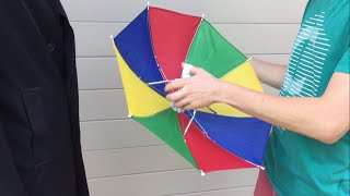 Have you ever seen the rain? - Hands Free Umbrella Hat Review