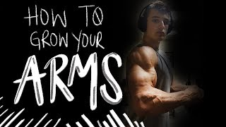 HOW TO GET BIG ARMS