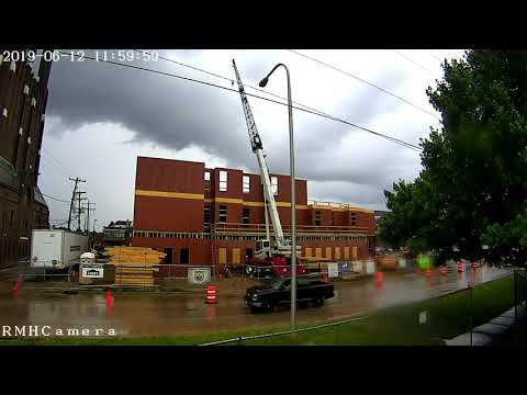 Ronald McDonald House Peoria, IL, Construction Time Lapse
