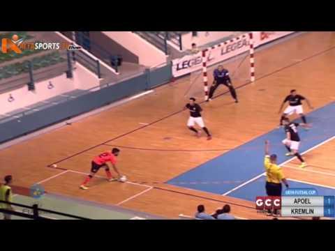 UEFA FUTSAL CUP  APOEL   KREMLIN 021015