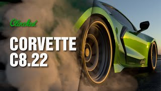 homepage tile video photo for Clinched Corvette C8.22 Teaser