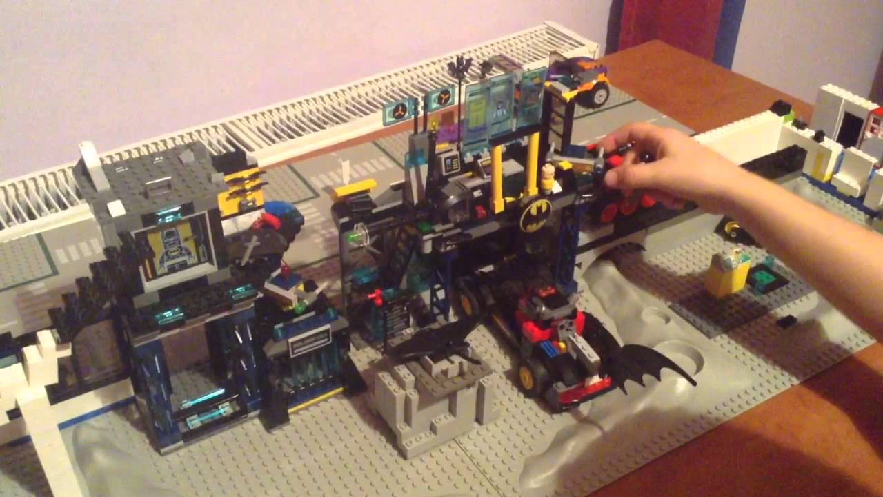 Lego Batman Custom Batcave Part 1 Of 2 Youtube