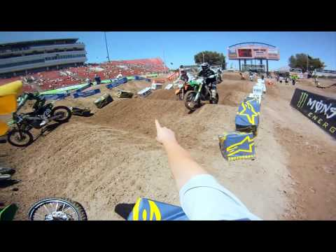 ‪GoPro HD: Las Vegas Practice Monster Energy Supercross 2011‬
