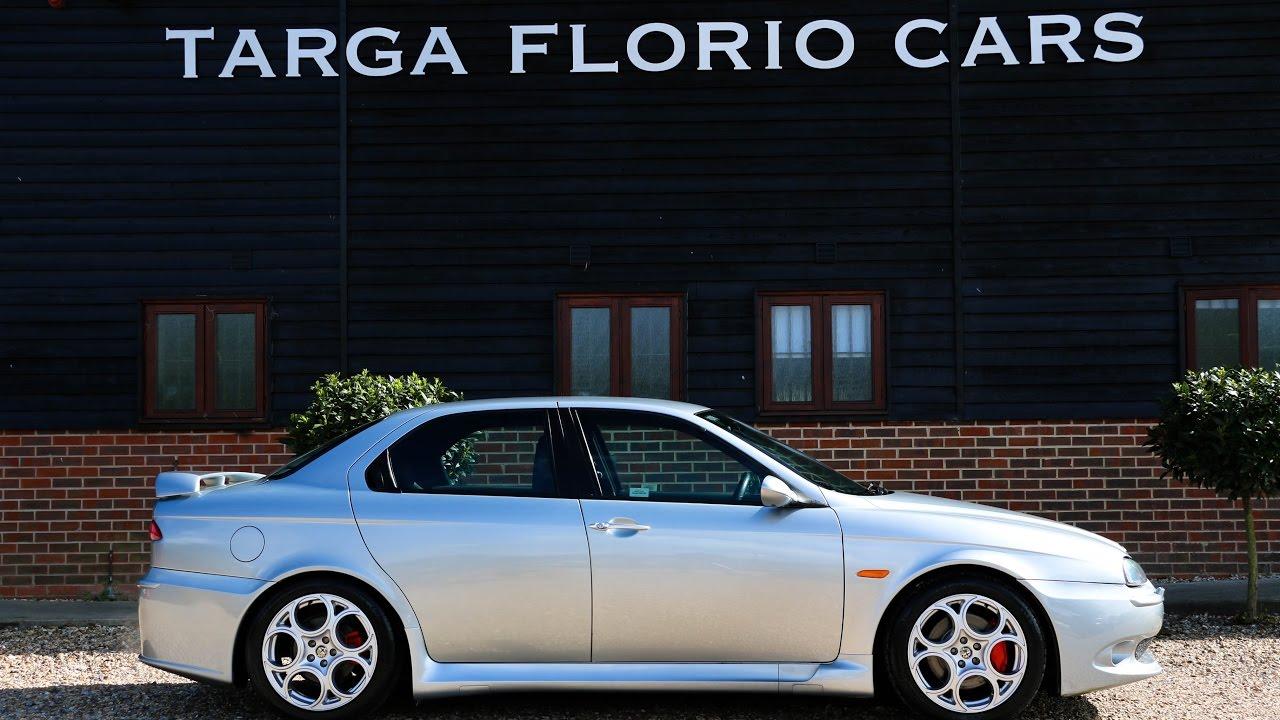 alfa romeo 156 3 2 v6 24v gta manual in silver with full black rh youtube com Alfa Romeo 156 GTA Alfa Romeo 169