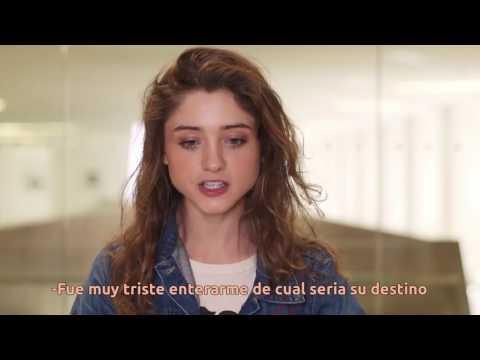 Natalia Dyer Entrevista