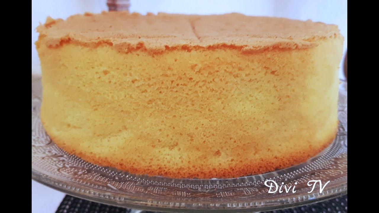 Tortenboden/ ohne Backpulver/ Basic Sponge Cake/ ENG SUB