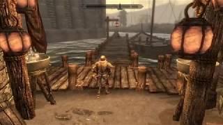 TESV Skyrim Эльфийский лук и меч на 1 уровне легально