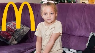 Little Girl Superglued to McDonald's Toilet in Cruel Prank
