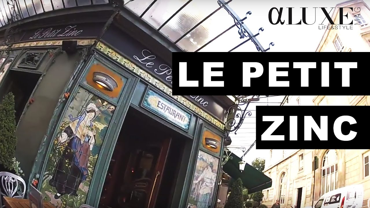 Le petit zinc paris youtube - Le petit salon paris ...