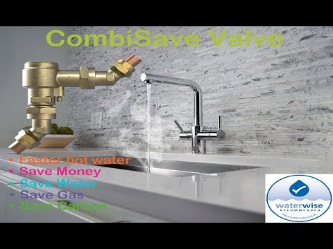 CombiSAVE Demonstration - Combi Boiler Water and Energy Saving Valve