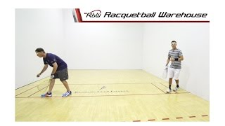 Racquetball Doubles: Serves