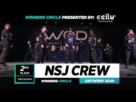 NSJ CREW | 2nd Place Team | Winner Circle | World of Dance Antwerp 2020 | #WODANT2020
