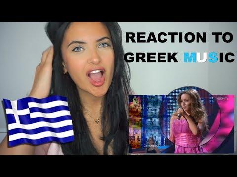 FIRST REACTION TO GREEK MUSIC! (EUROVISION, KALOMIRA, Νίκος Οικονομόπουλος, LIGHT - Ποιός Eίμαι)