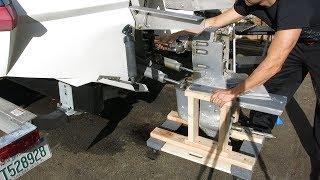 Removing (a stuck) Volvo Penta SX DP-S Sterndrive