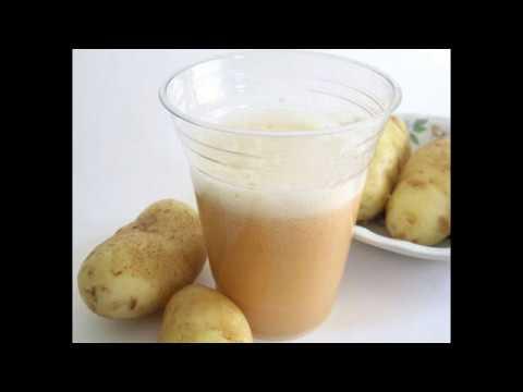 Картофельный сок, польза или вред