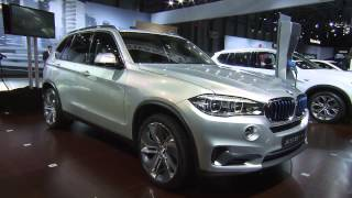 BMW Concept X5 eDrive at the New York International Auto Show 2014 | AutoMotoTV