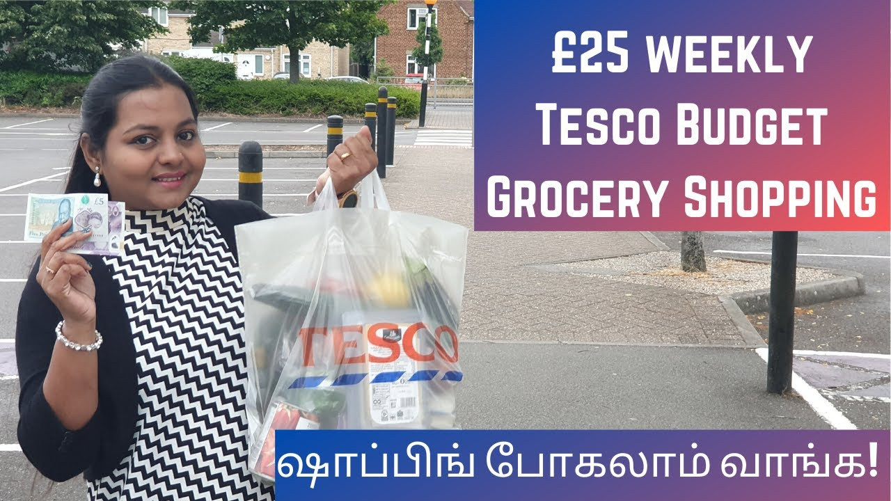 £25 Weekly Tesco Grocery Shopping |Keto Meal Plan for WeightLoss |London Tamil Vlogs #RevathyBharath