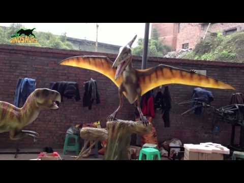 Animatronic Pterosaur