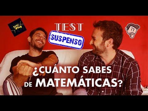 TEST de Matemáticas a un Físico - Con Javier Santaolalla de Date un Vlog