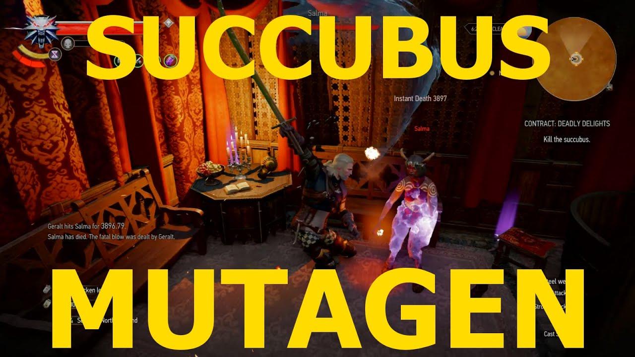 3 succubus witcher Succubus mutagen