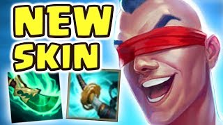 *NEW* PLAYMAKER LEE SIN JUNGLE SPOTLIGHT 21 kilIs | NEW SPEAR OF SHOJIN STORMRAZOR | CRAZY FRIENDS?!
