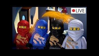 LEGO Ninjago: Мастера Кружитцу. Полный 5 и 6 сезон. LIVE 24/7 на английском!