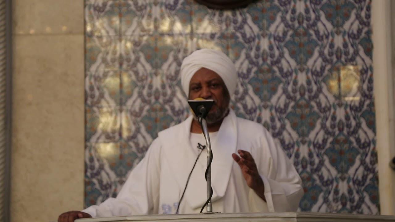 #خطبة_الجمعة حول مجزرة مسجدي نيوزيلاندا.  لفضيلة أ.د. عصام البشير.