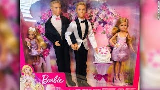 A couple inspires toymaker Mattel to consider creating a same-sex Barbie wedding set