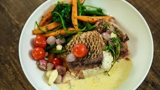 Pan Fried Red Snapper With Lemon Butter Cream Sauce | Fish Recipes | Varun Inamdar